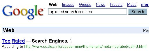 Top Rated Search