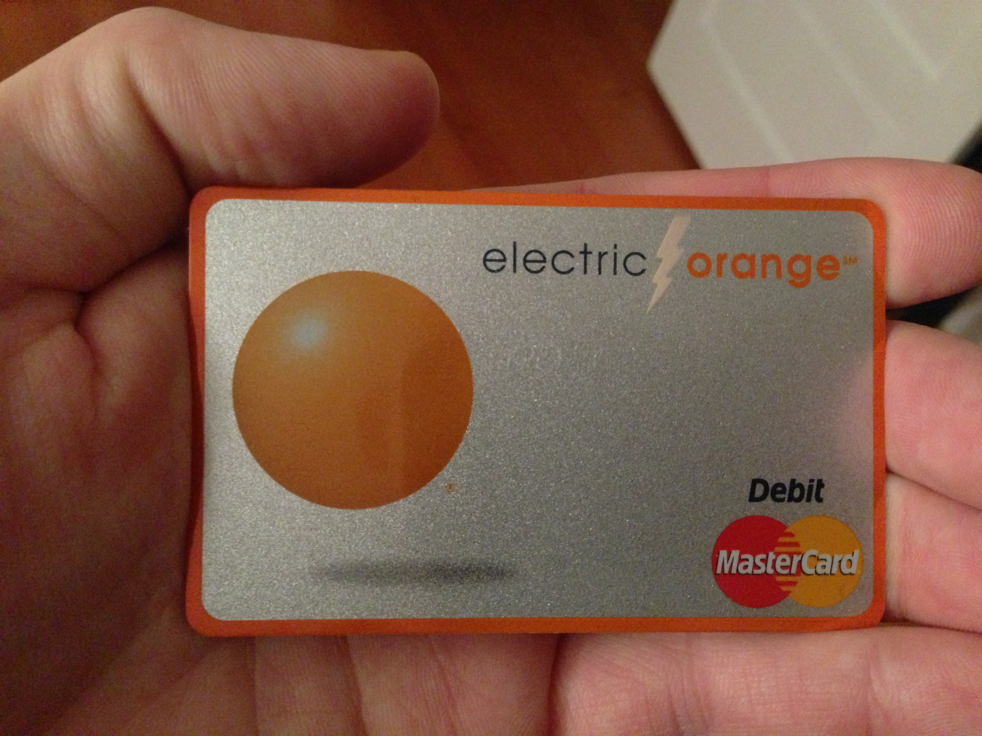 My New Debit Card