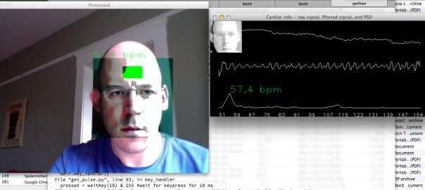Tracking Your Heart Rate Via Webcam