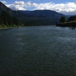 Another view of the Bridge of the Gods on the Columbia River